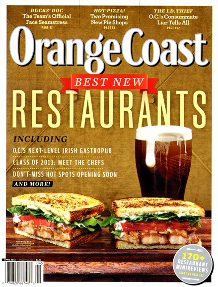 Orange Coast Cover - 4/1/2013