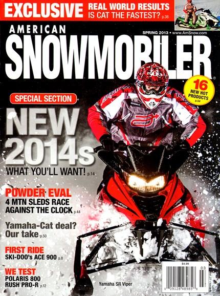 American Snowmobiler Cover - 3/1/2013