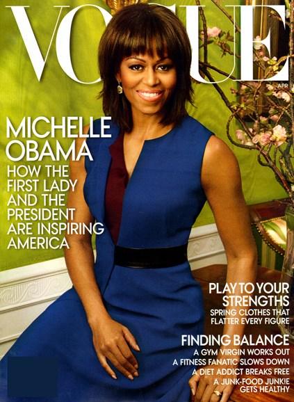 Vogue Cover - 4/1/2013