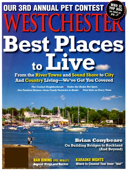 Westchester Magazine Cover - 4/1/2013