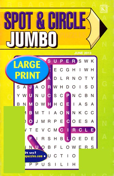 Spot & Circle Jumbo Cover - 6/1/2013