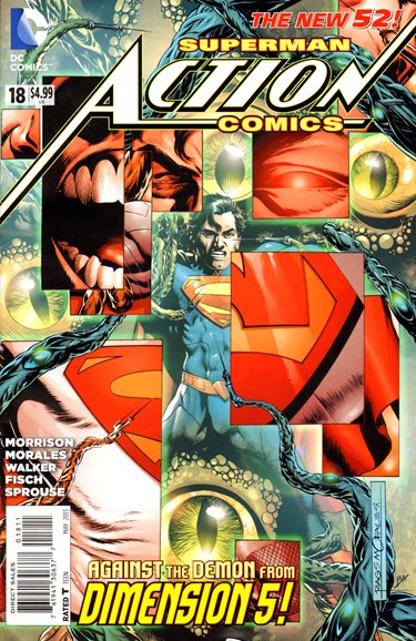 Action Comics Cover - 5/1/2013