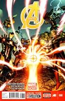 Avengers Comic 5/1/2013