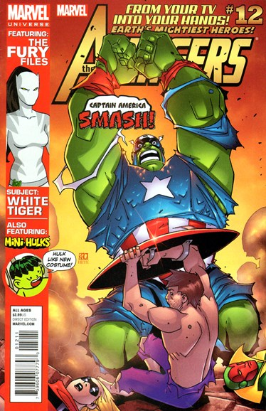 Marvel Universe Avengers Earth's Mightiest Heroes Cover - 5/1/2013