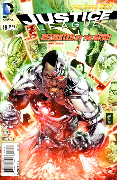 Justice League Cover - 5/1/2013