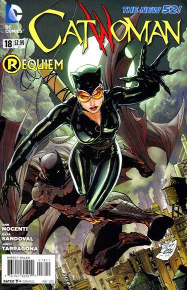 Catwoman Cover - 5/1/2013