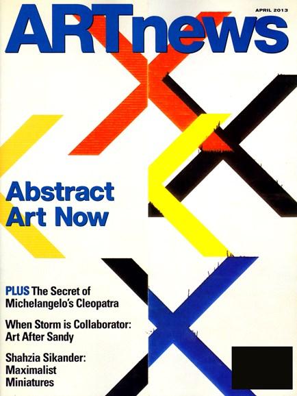 ARTnews Cover - 4/1/2013