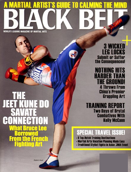 Black Belt Magazine Cover - 4/1/2013