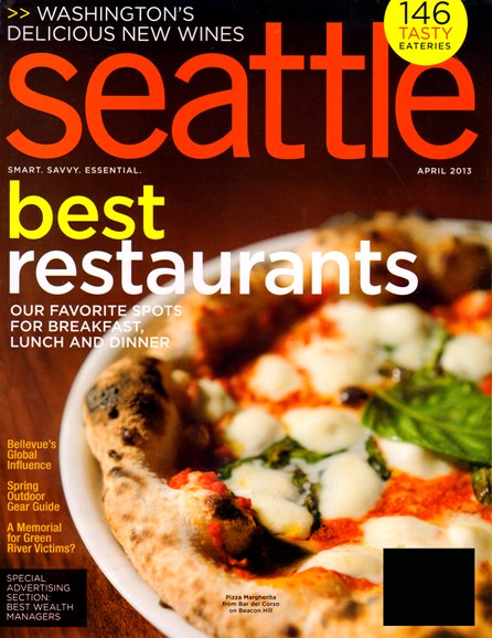 Seattle Magazine Cover - 4/1/2013