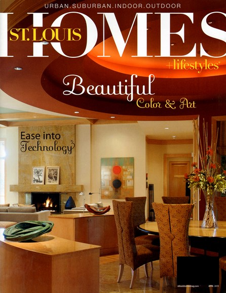 St. Louis Homes & Lifestyles Cover - 4/1/2013