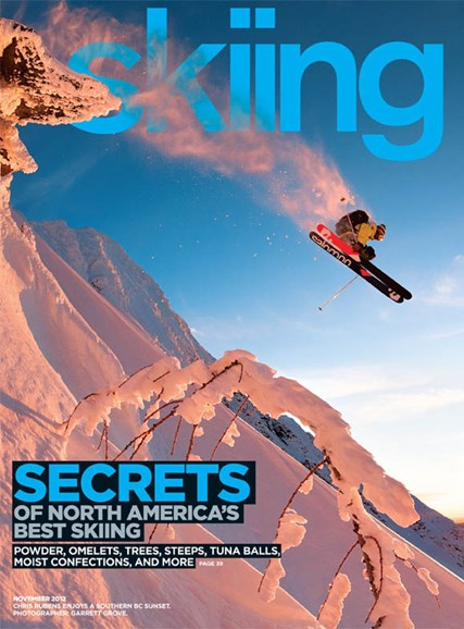 Skiing Cover - 11/1/2012