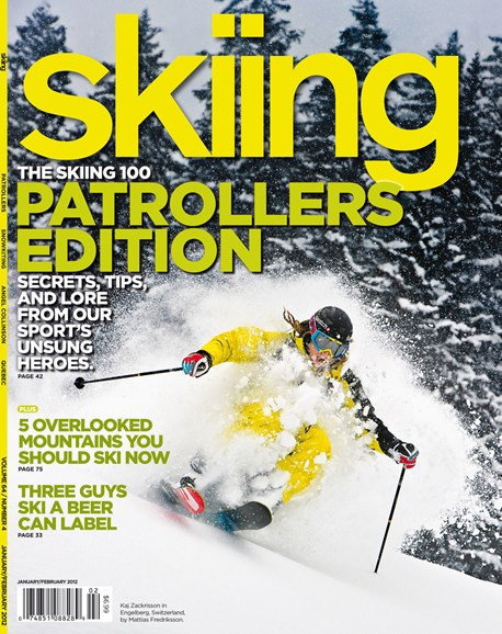 Skiing Cover - 1/1/2012
