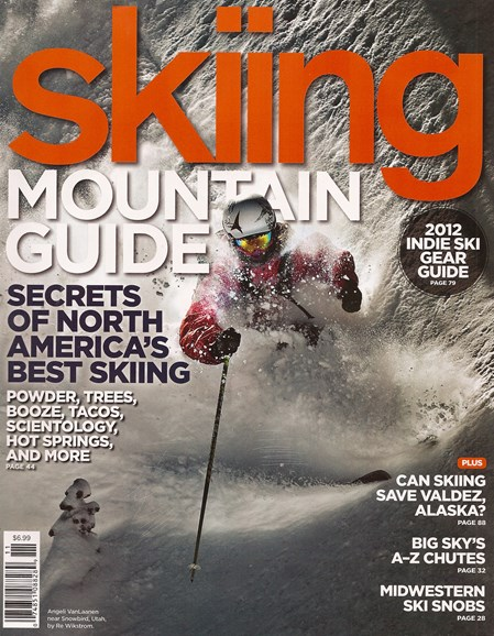 Skiing Cover - 11/1/2011