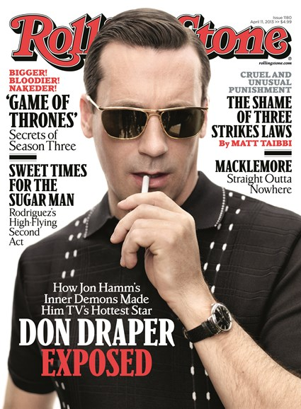 Rolling Stone Cover - 4/11/2013