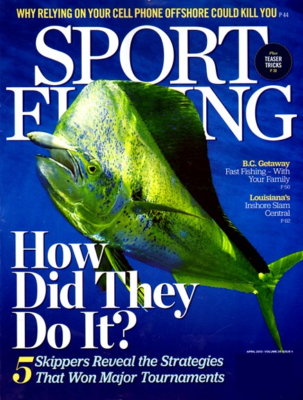 Sport Fishing Cover - 4/1/2013