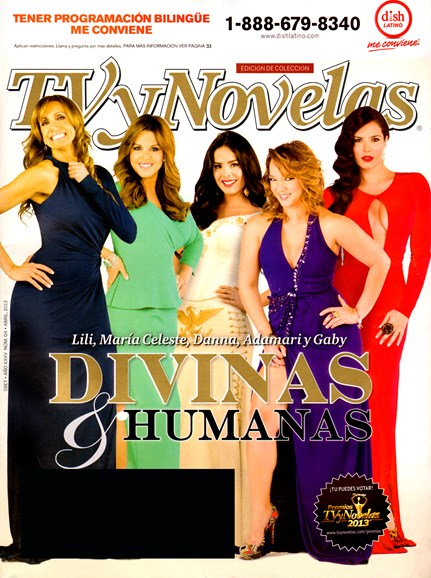 Tv Y Novelas Cover - 4/1/2013