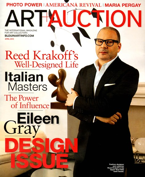 Blouin Art & Auction Cover - 4/1/2013