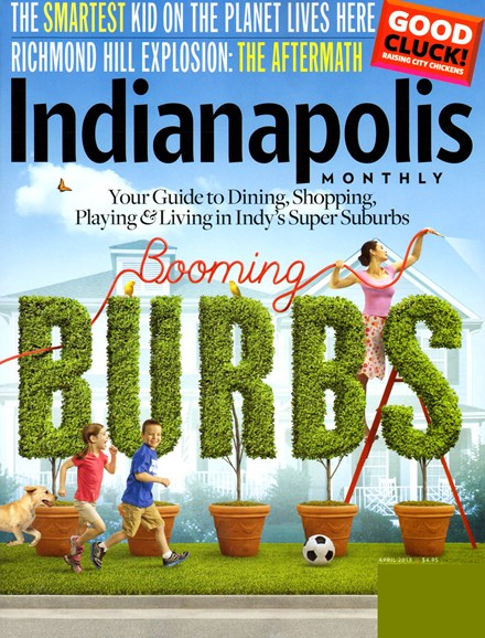 Indianapolis Monthly Cover - 4/1/2013