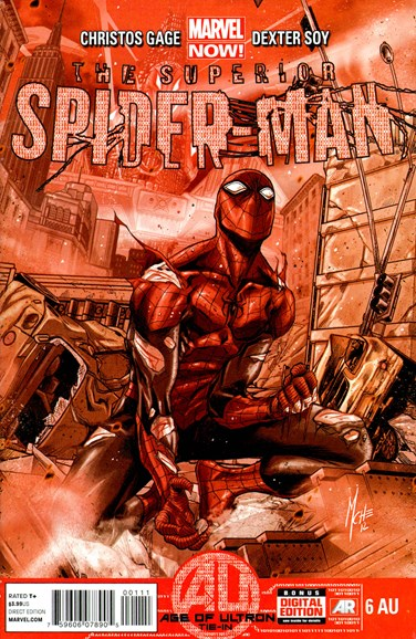 Amazing Spider-Man Cover - 5/15/2013