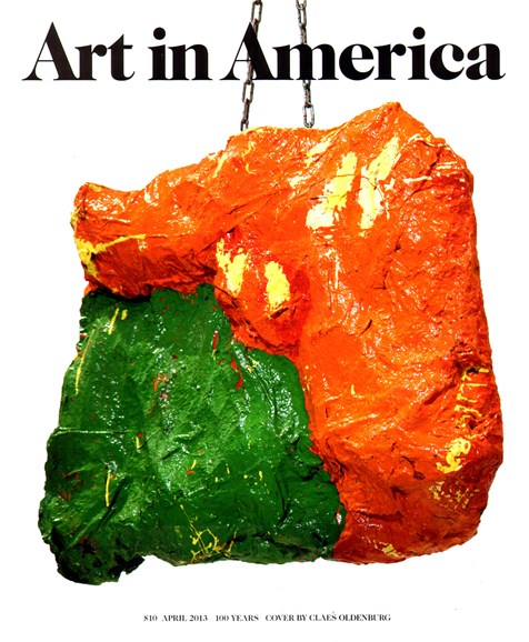 Art In America Cover - 4/1/2013