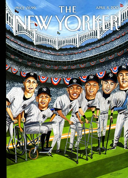 The New Yorker Cover - 4/8/2013