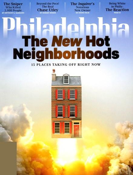 Philadelphia Magazine Cover - 4/1/2013