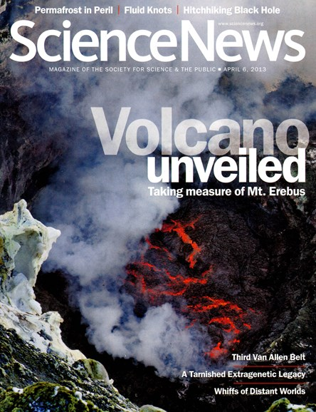 Science News Cover - 4/6/2013
