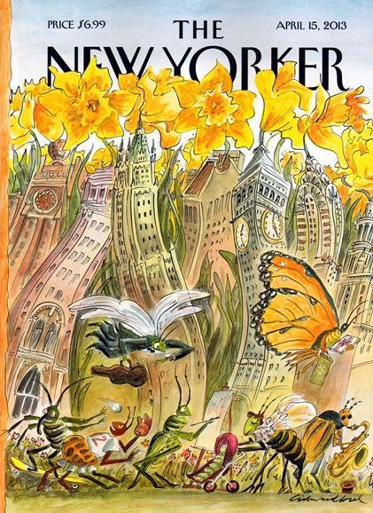 The New Yorker Cover - 4/15/2013