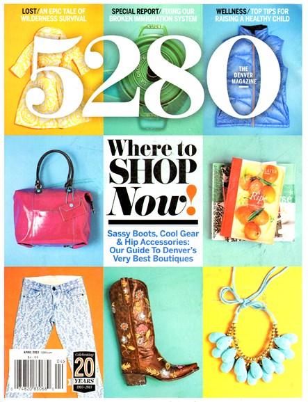 5280 Magazine Cover - 4/1/2013
