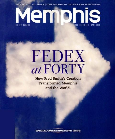 Memphis Cover - 4/1/2013