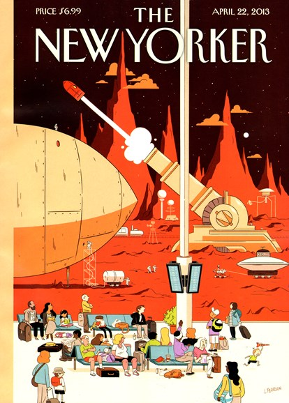 The New Yorker Cover - 4/22/2013