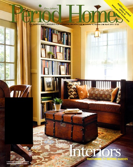 Period Homes Cover - 3/1/2013