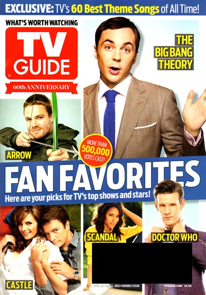 TV Guide Cover - 4/22/2013