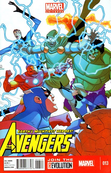 Marvel Universe Avengers Earth's Mightiest Heroes Cover - 6/1/2013