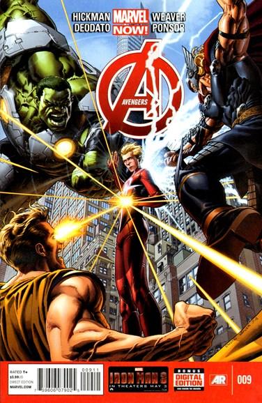 Avengers Cover - 6/1/2013