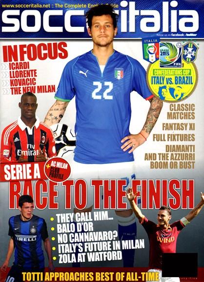 Soccer Italia Cover - 5/1/2013