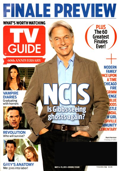 TV Guide Cover - 5/6/2013