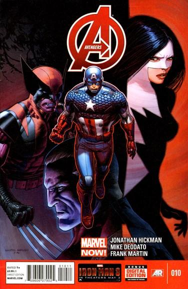 Avengers Cover - 6/15/2013