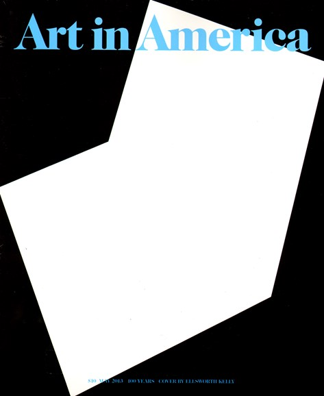 Art In America Cover - 5/1/2013