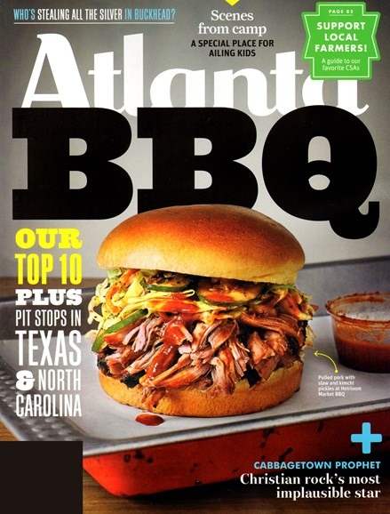 Atlanta Magazine Cover - 5/1/2013