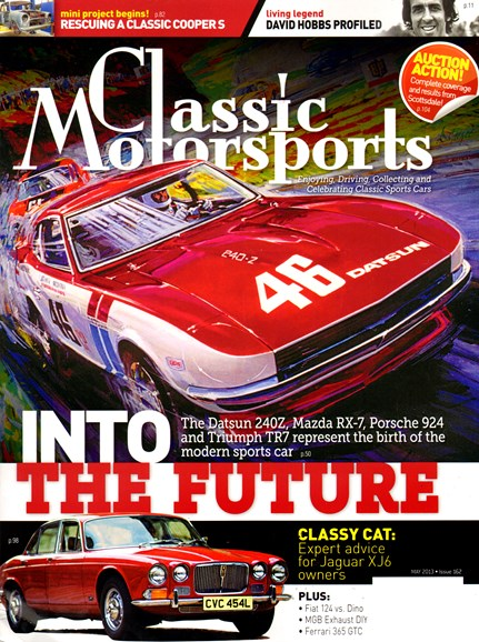 Classic Motorsports Cover - 5/1/2013