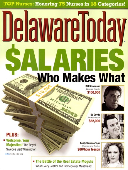 Delaware Today Cover - 5/1/2013