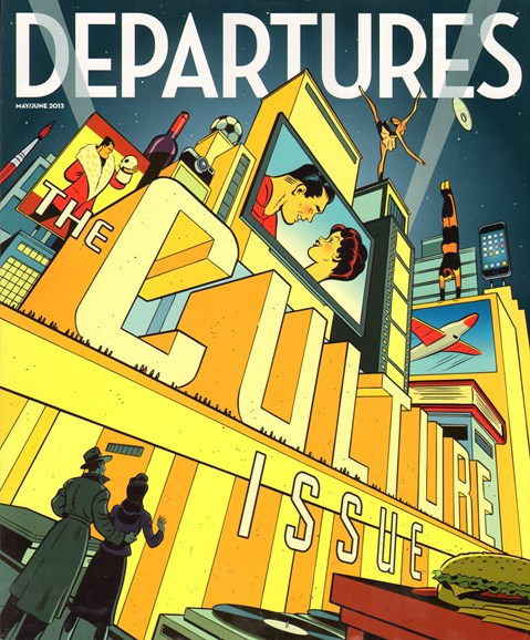 Departures Cover - 5/1/2013