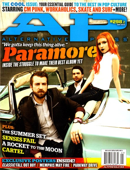 Alternative Press Cover - 5/1/2013