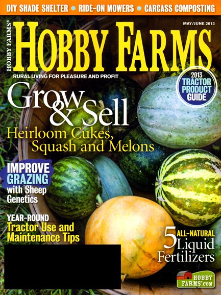 Hobby Farms Cover - 5/1/2013