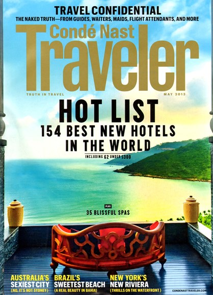 Condé Nast Traveler Cover - 5/1/2013