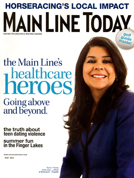 Main Line Today Cover - 5/1/2013