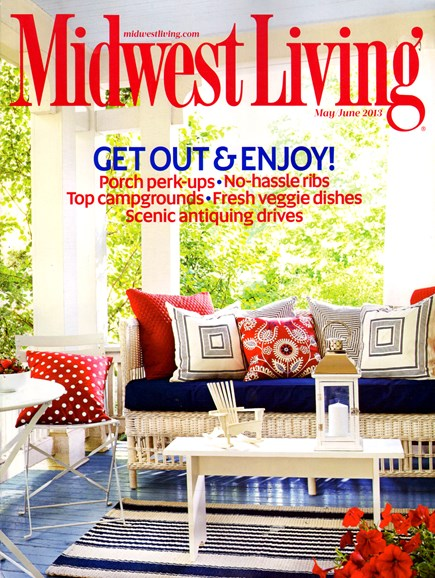 Midwest Living Cover - 5/1/2013