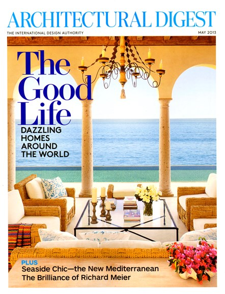 Architectural Digest Cover - 5/1/2013
