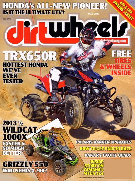 Dirt Wheels Cover - 5/1/2013